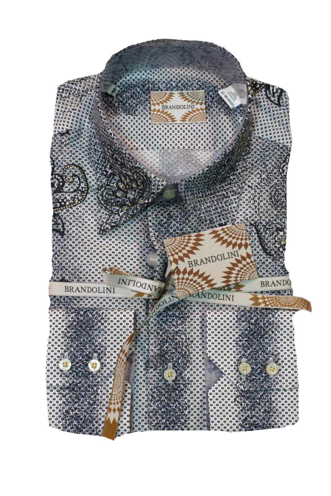 Brandolini Patterned Shirt | Ruggi's Fine Italian Clothing